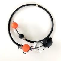 Gummihalsband, BRN004