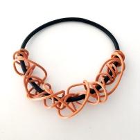 Gummihalsband, BRN006
